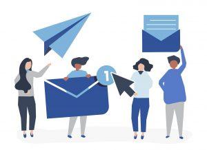 بازاریابی پیامکی و ایمیلی